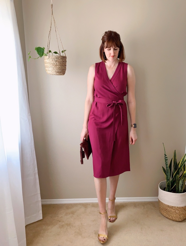 Everlane Go Weave Wrap Dress