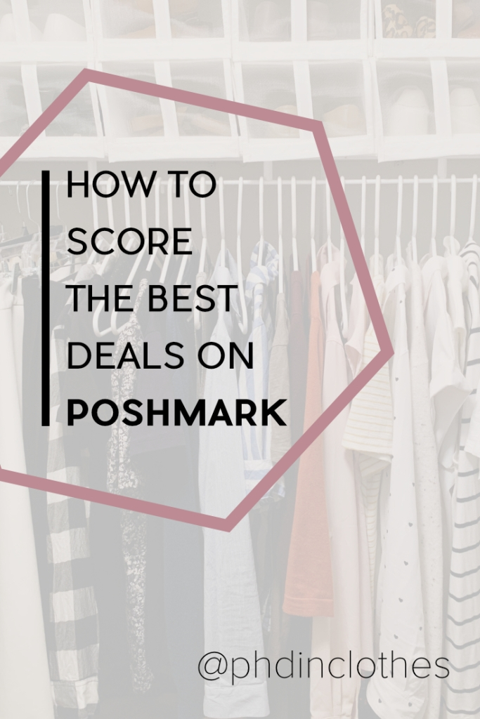 How I find good deals, avoid scams, and shop my wishlist on Poshmark