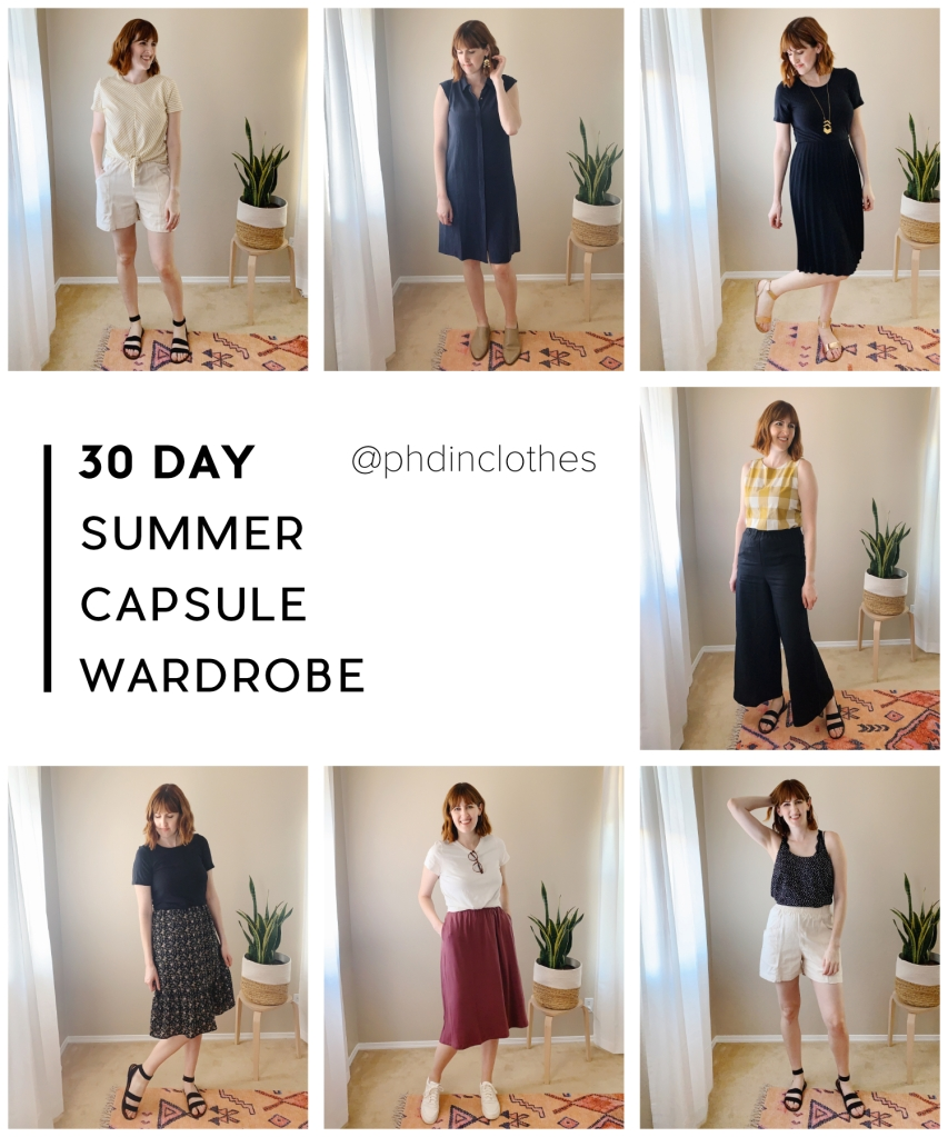 30 day summer capsule wardrobe