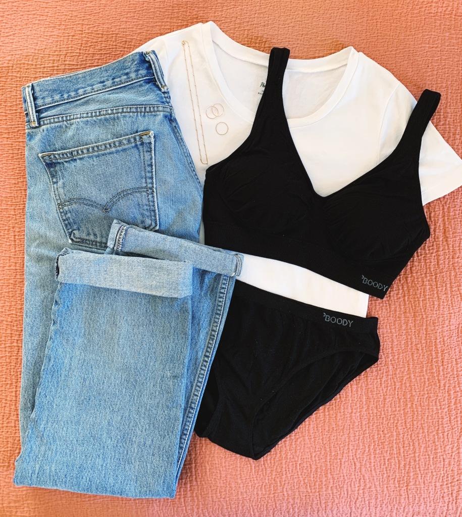 Boody wear shaper bra and underwear review